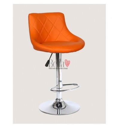 orange High Makeup chairs for makeup salon and beauty salon. BFHC1054
