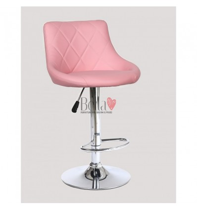 Pink High Makeup chairs for makeup salon and beauty salon. BFHC1054