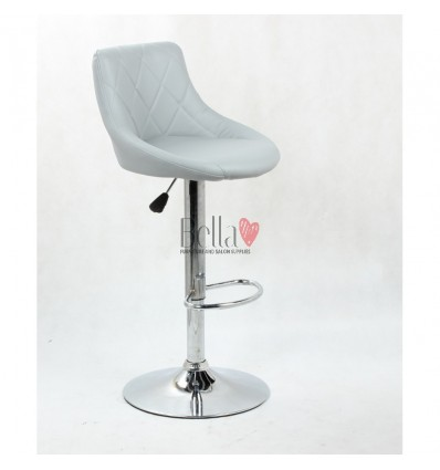 grey High Makeup chairs for makeup salon and beauty salon. BFHC1054
