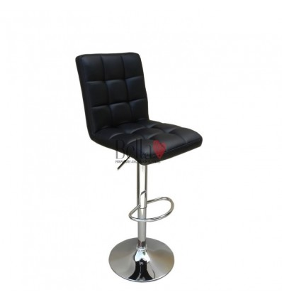Classic Black High Chairs for Salons in Ireland - Black BFHC1015