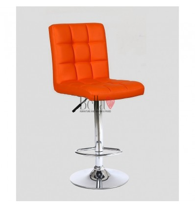 Vibrant Orange High Chairs for Salons in Ireland - orange BFHC1015