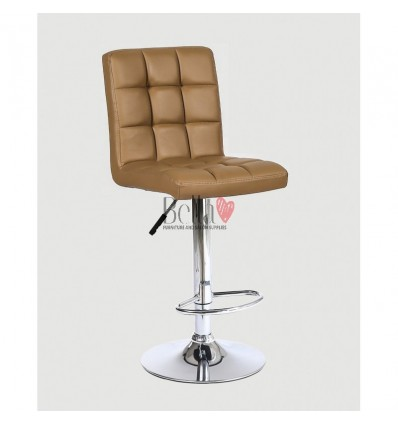 Classic Caramel High Chairs for Salons in Ireland - caramel color BFHC1015