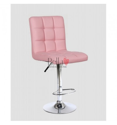 Classic Pink High Chair for Salons in Ireland - pink BFHC1015