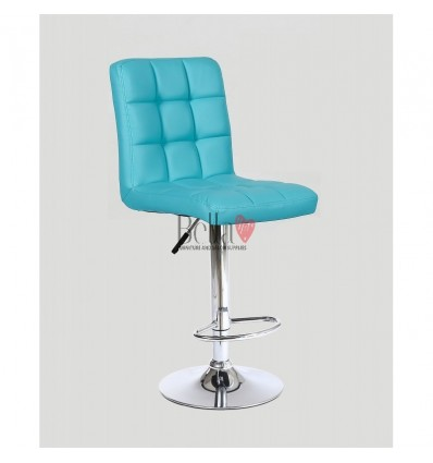 Classic Turquoise High Chair for Salons Ireland - Turquoise BFHC1015