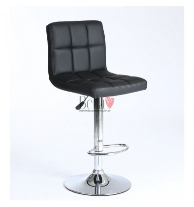 Classic Black High Makeup chairs for makeup salon Black BFHC8052