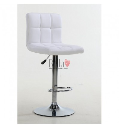 Classic White High Makeup chairs for makeup salon BFHC8052