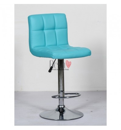Classic Turquoise High Chair for Salons BFHC8052