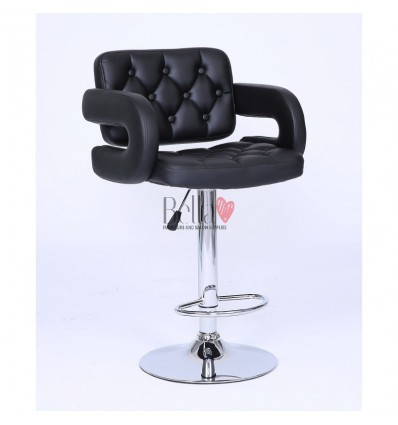 Classic Black Professional Makeup chairs BFHC8403