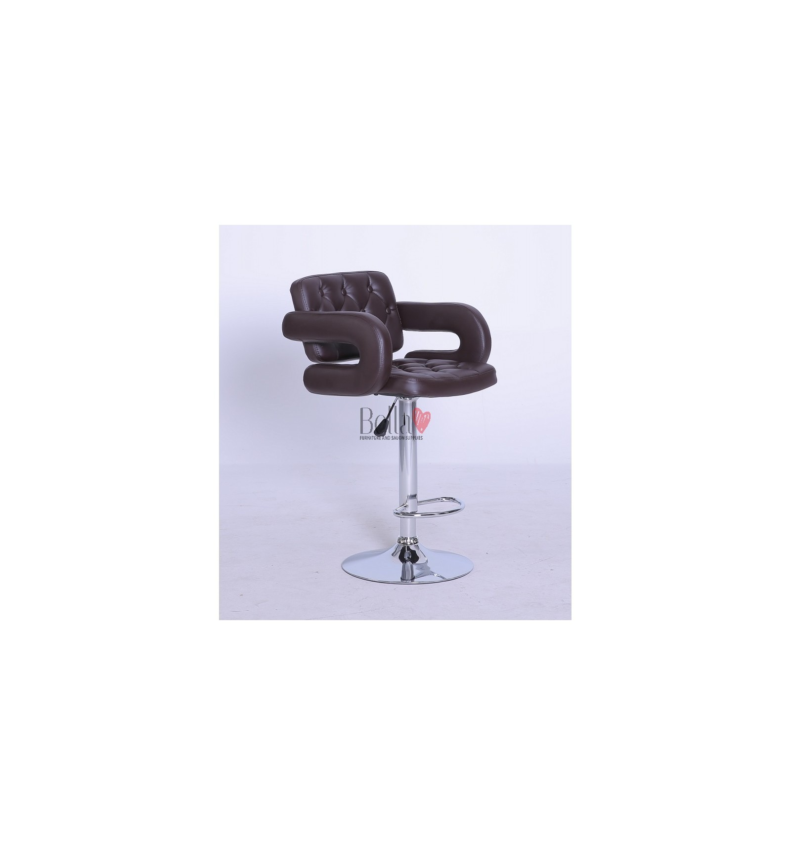 Classic Brown Professional Makeup chairs BFHC8403  sc 1 st  Bella Furniture & Professional Brown Makeup chairs for makeup salon and beauty salons