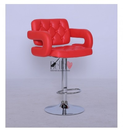 Classic Red Professional Makeup chairs BFHC8403