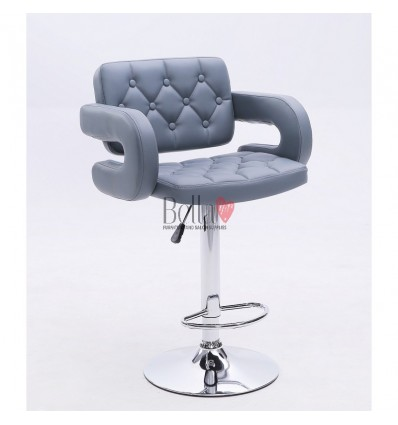 Classic Grey Professional Makeup chairs BFHC8403