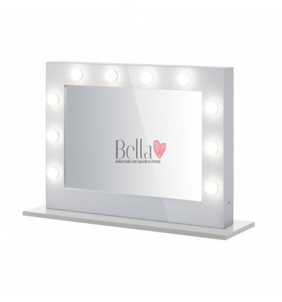 Diva Mirror White. Diva makeup mirror.