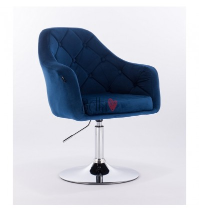 Blue chairs for beauty salon. Hroove Salon Chair - Blue BFHR831