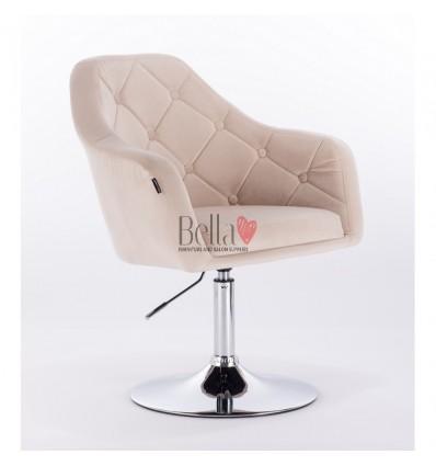 cream colour chairs for nail salon. Hroove Salon Chair - cream BFHR831