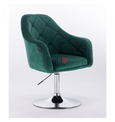bella furniture salon chairs. Hroove Salon Chair - Green BFHR831