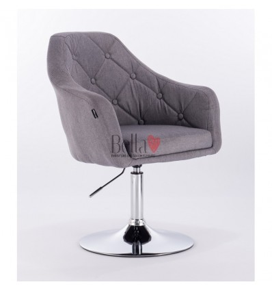 Hroove Salon Chair - Light grey BFHR831