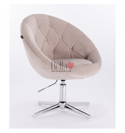 beige chairs for beauty salon in Ireland. Hroove Salon Chair - Beige BFHR8516