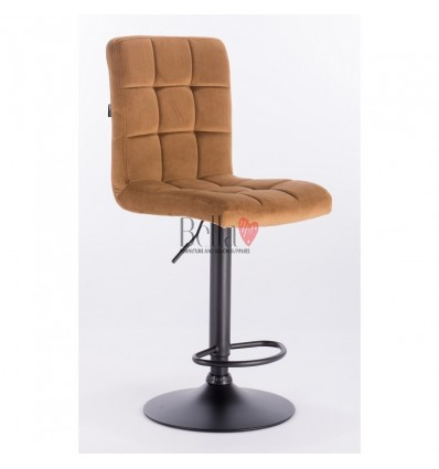 Carmel colour chairs. Hroove Salon High Chair - Carmel BFHR7009