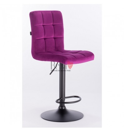 purple chairs for beauty salons. Hroove Salon High Chair - Purple BFHR7009