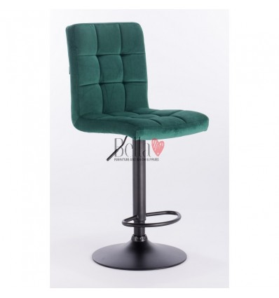 Turquoise chairs for sale Hroove Salon High Chair - Turquoise BFHR7009