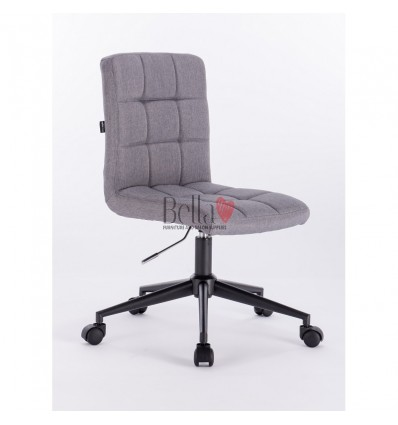 Hroove Salon Chair on Wheels - Grey chairs on wheels BFHR7009K