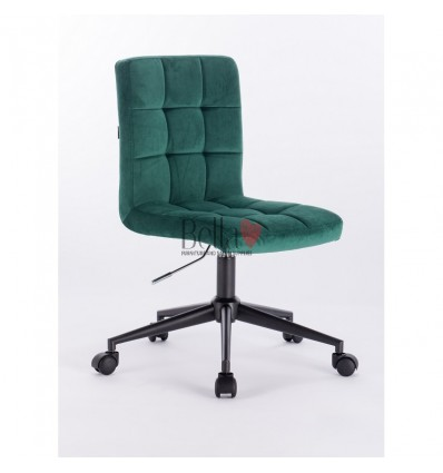 Hroove Salon Chair on Wheels - Turquoise chairs on wheels BFHR7009K