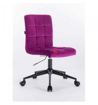 Hroove Salon Chair on Wheels - purple BFHR7009K