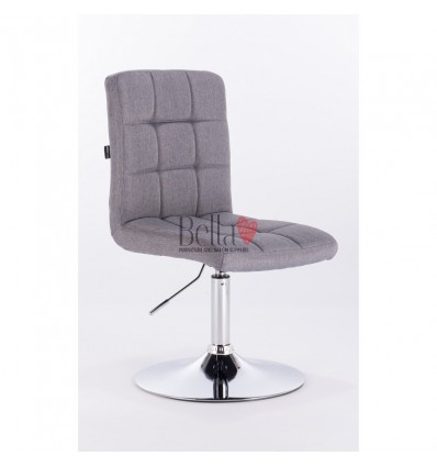 Hroove Salon Chair - Grey salon chairs Ireland BFHR7009N