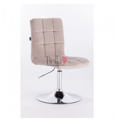Beige salon chairs Dublin Hroove Salon Chair - BFHR7009N