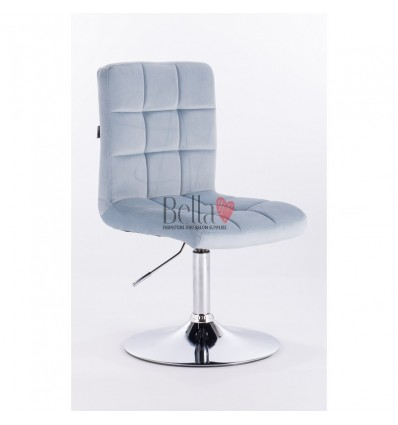 light blue chairs for beauty salons Ireland. Hroove Salon Chair - BFHR7009N