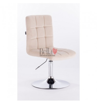 cream colour chairs Ireland, Hroove Salon Chair - BFHR7009N