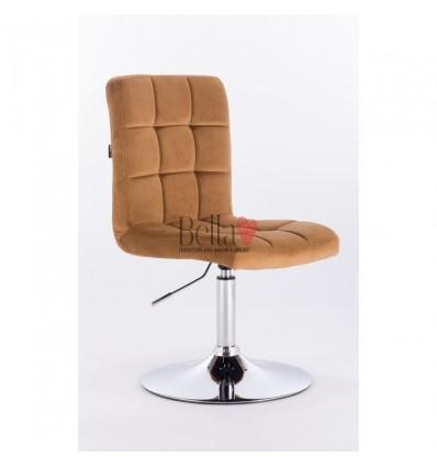 Hroove Salon Chair - honey colour chairs BFHR7009N