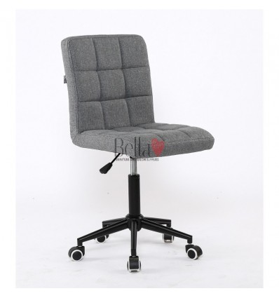 Hroove Salon Chair on Wheels - Grey chairs on wheels dublin BFHR1015K