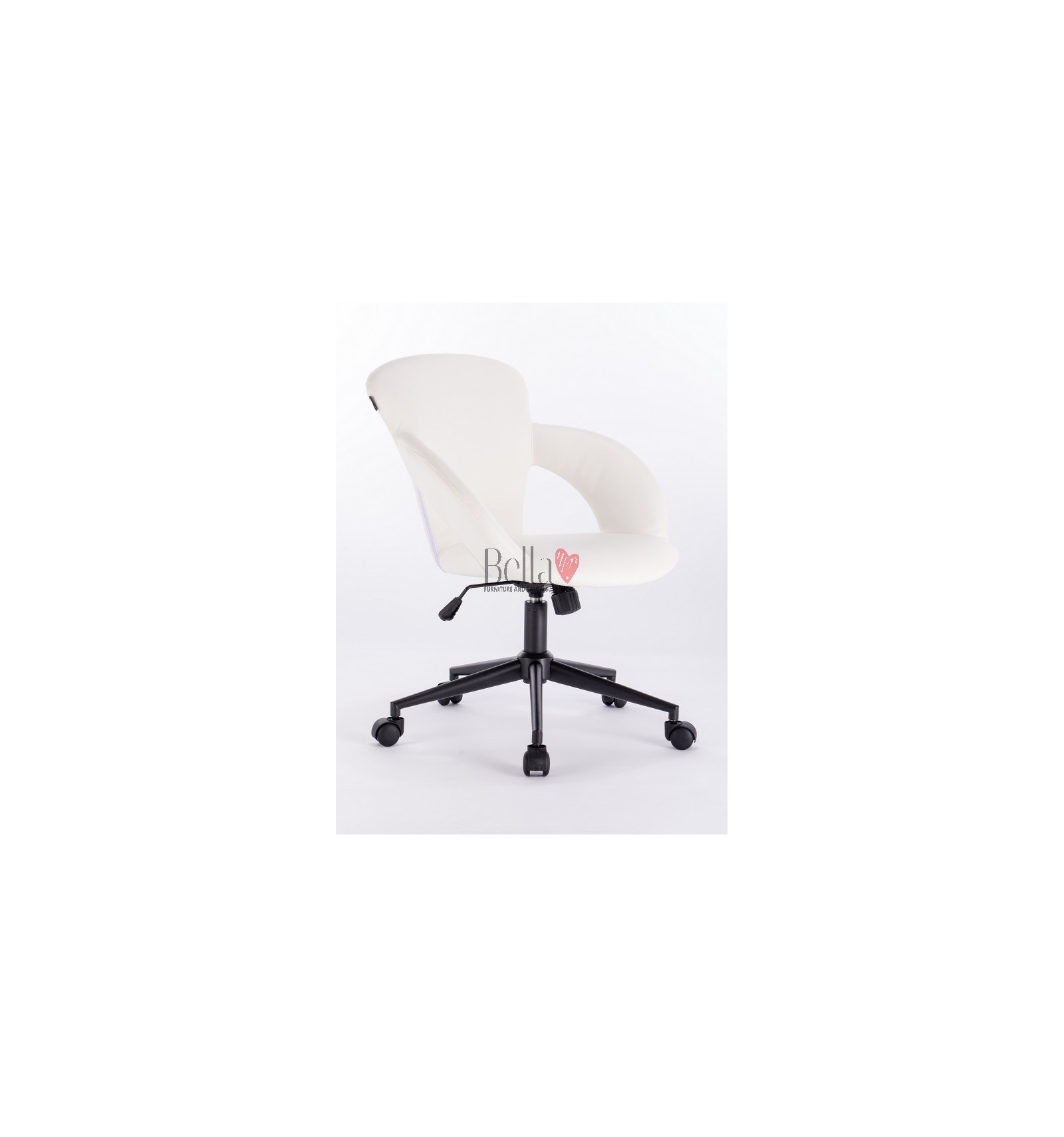 Hroove Salon Chair On Wheels Luxury Whitesalon Chairs For Hr350