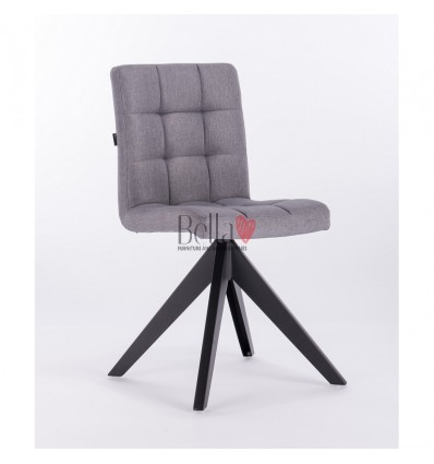 Hroove Salon Chair - grey scandinavian chairs for beauty salon BFHR7009