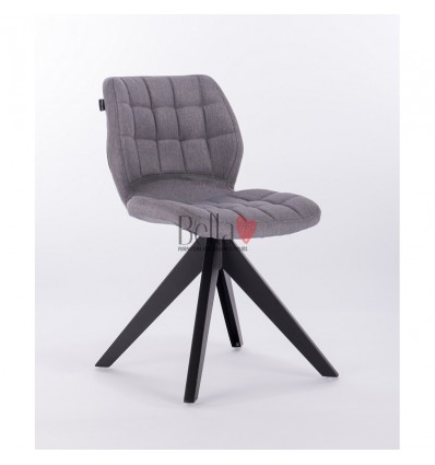 Hroove Salon Chair - grey chairs with legs BFHR445