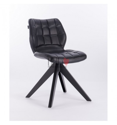 Hroove Salon Chair - Black chairs with legs BFHR445