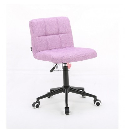 Hroove Salon Chair on Wheels - Pink chairs on wheels BFHR1015K