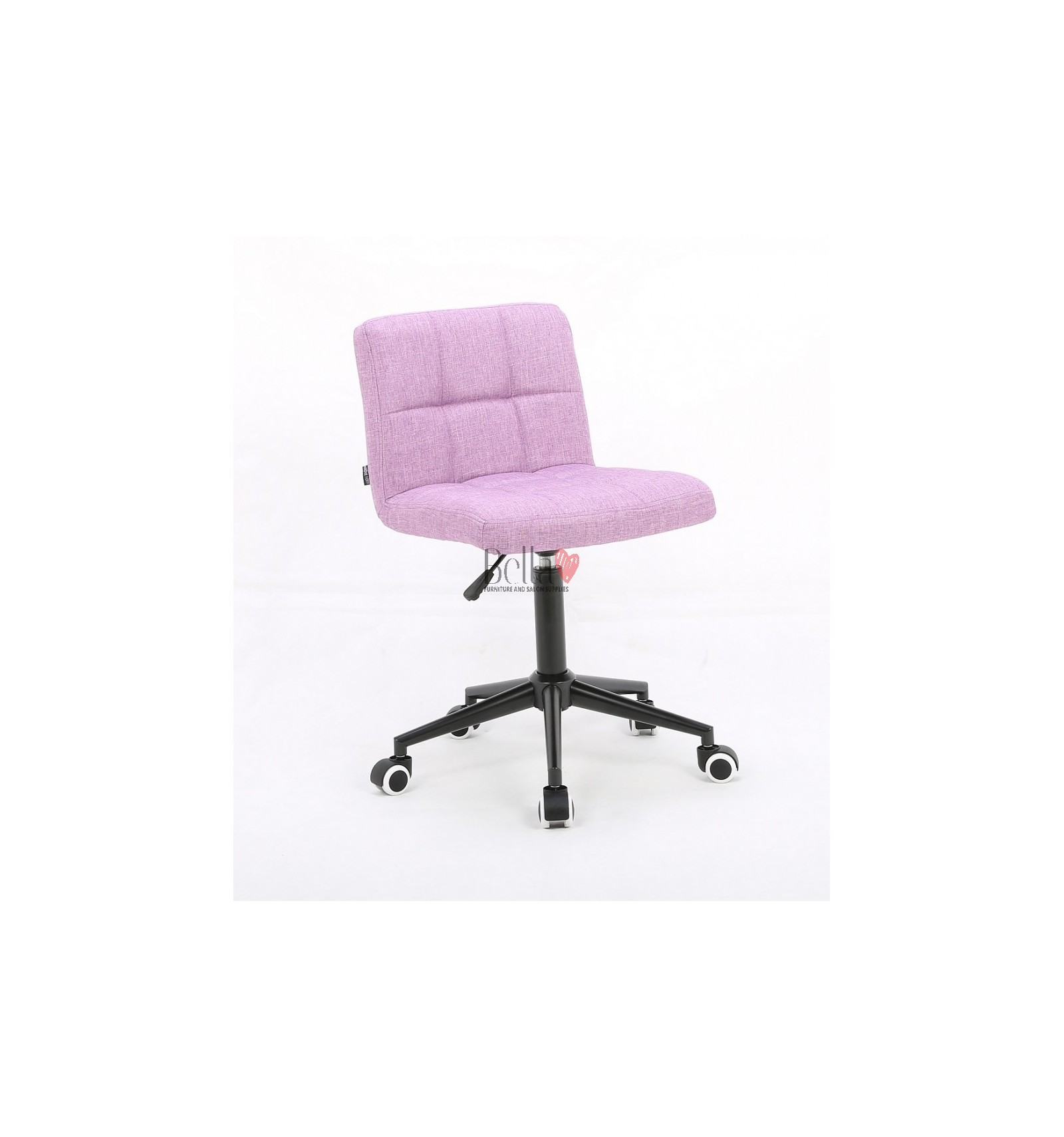 Hroove Salon Chair On Wheels Pink Chairs Hr1015k