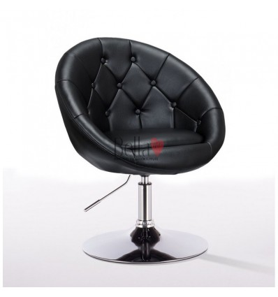 Bellafurniture Black Salon Chair BFHC8516. Black Chair for hairdressers and beauty salon. Stylish beauty salon chairs.