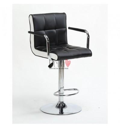 High Chair - Black/White side BFHC811