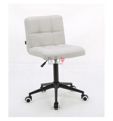Hroove Salon Chair on Wheels - Light Grey BFHR8052K