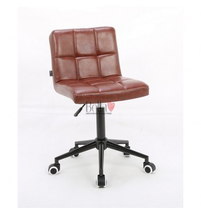 Hroove Salon Chair on Wheels - Brown BFHR8052K