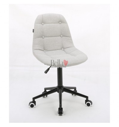 White chairs for beautician. White hroove chair for beauty salons Ireland BFHC1801K