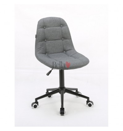 Light Grey chairs for beautician. Light Grey hroove chair for beauty salons Ireland BFHC1801K