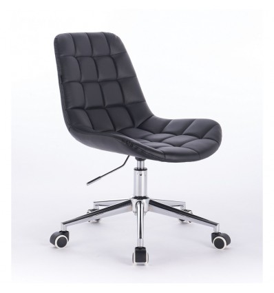 Hroove Salon Chair On Wheels - Black Scandinavian style Bella Furniture Ireland BF590K