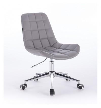 Hroove Salon Chair On Wheels - Grey Bella Furniture Ireland BF590K