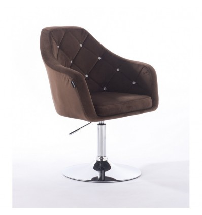 Hroove Salon Chair - Chocolate Bella Furniture Ireland BFHR830