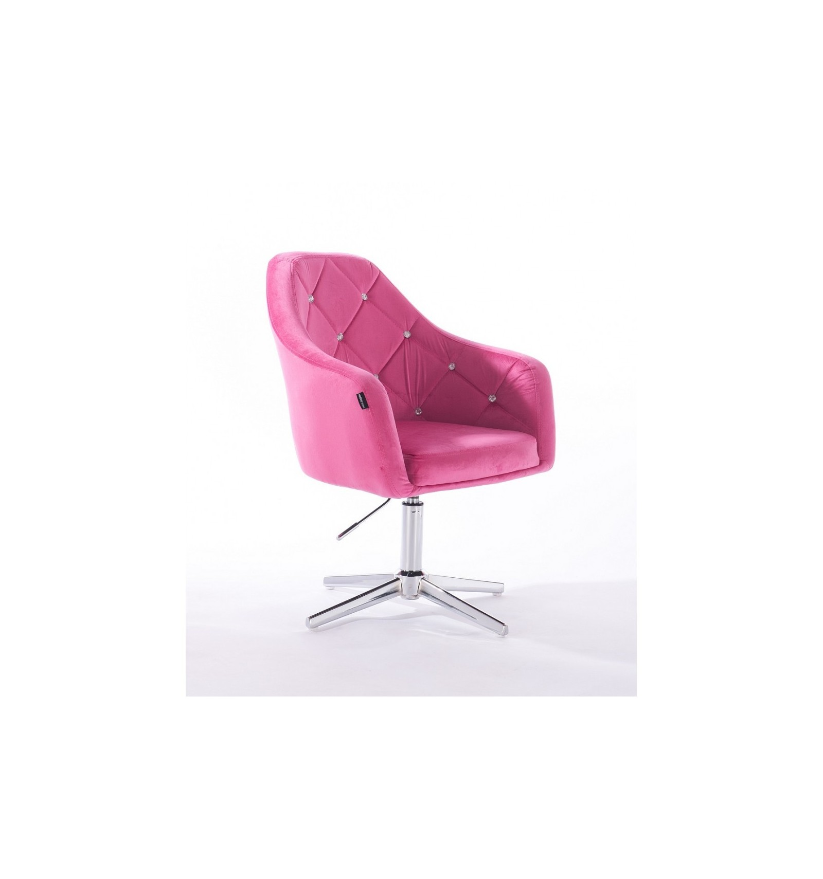 Hroove Salon Chair Pink Bella Furniture Ireland Hr830cross