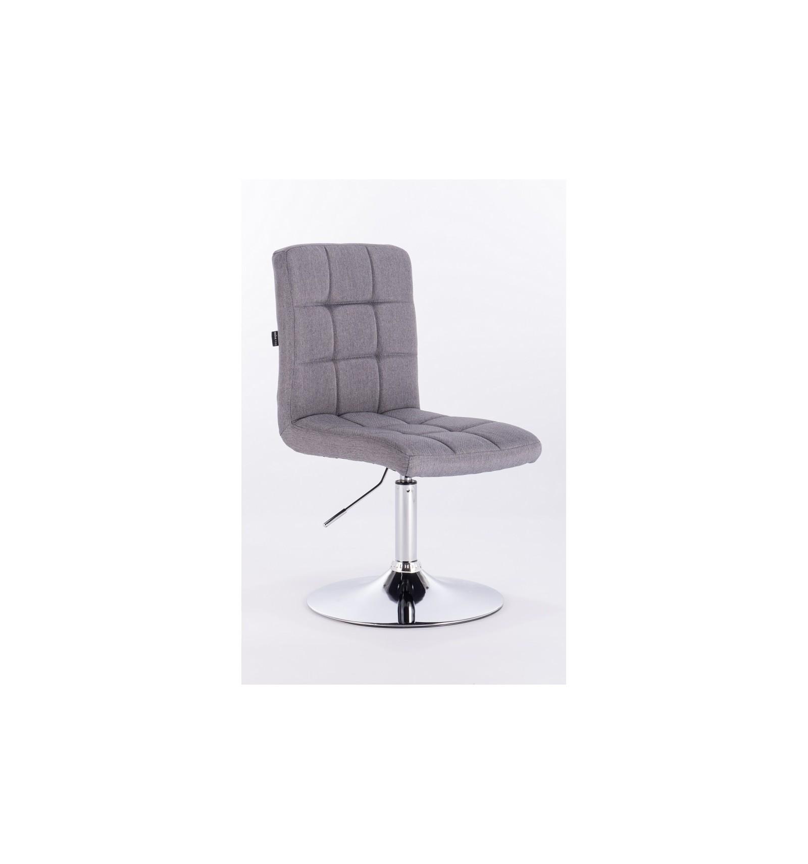 Hroove Salon Chair   Grey Tweed Bella Furniture Ireland BFHR7009N